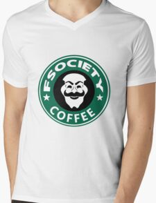 f society coffee Mens V-Neck T-Shirt