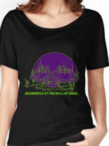 Meanwhile at the Legion of Doom Women's Relaxed Fit T-Shirt