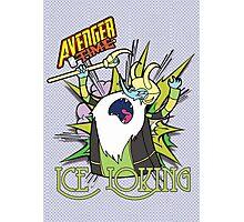 Ice Loking - Avenger Time Photographic Print