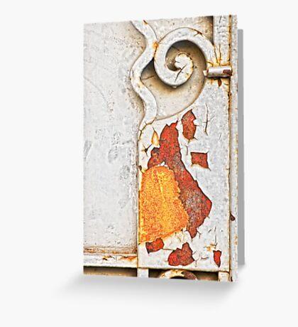 Gate detail Greeting Card