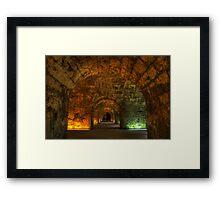 Kufstein Castle Hallway Framed Print