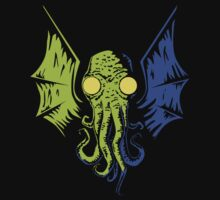 Cthulhu in the Depths by Josh Legendre