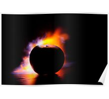 Cooking Apple Poster