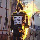 Lundy burns! by NiallMcC