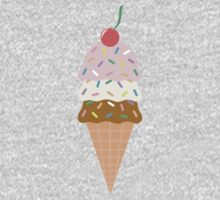 Ice Cream Cone Kids Tee