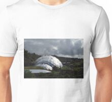Grey Skies Over The Eden Project Unisex T-Shirt