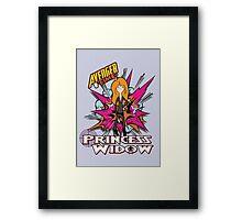 Princess widow - Avenger Time Framed Print