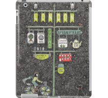 Riding home for Christmas iPad Case/Skin