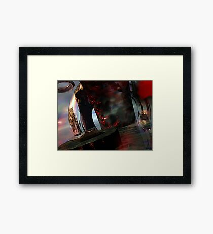 The Tomb of Ligeia // Quoth the Raven Nevermore Framed Print