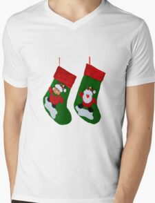 Xmas Stockings  Mens V-Neck T-Shirt
