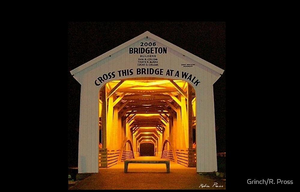 Bridgeton Covered Bridge, Bridgeton, Indiana by Grinch/R. Pross