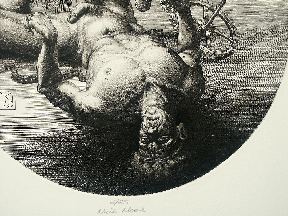Fallen Icarus - detail by Neil Moore