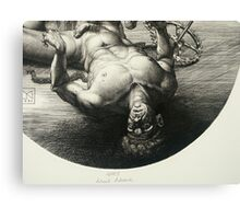 Fallen Icarus - detail Canvas Print