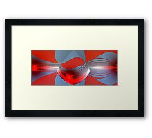 Twisted Sunset Framed Print
