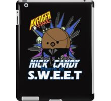 Nick Candy Agent of S.W.E.E.T - Avenger Time iPad Case/Skin