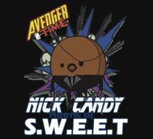 Nick Candy Agent of S.W.E.E.T - Avenger Time One Piece - Short Sleeve