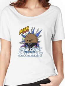 Nick Candy Agent of S.W.E.E.T - Avenger Time Women's Relaxed Fit T-Shirt