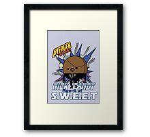 Nick Candy Agent of S.W.E.E.T - Avenger Time Framed Print