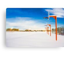 Abandoned Hoops Canvas Print