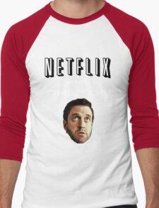 Netflix and Chilton Men's Baseball ¾ T-Shirt