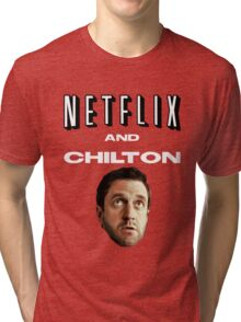 Netflix and Chilton Tri-blend T-Shirt