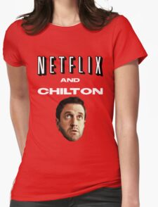 Netflix and Chilton Womens Fitted T-Shirt
