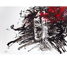 """""""The Pain of Cluster Headache"""" by Agnes-Cecile Photographic Print"""