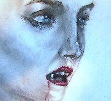 vampire girl by sp0nge