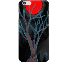 creepy tree iPhone Case/Skin