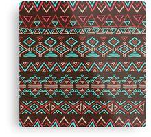 geometric seamless patterns.  Metal Print