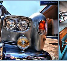 Rolls Royce Silver Shadow: detail & interior by andreisky