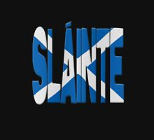 Slainte + Scots flag Hoodie