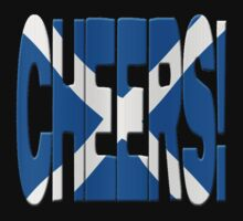 Cheers + Scots flag by stuwdamdorp