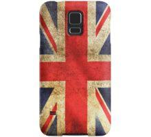 UK Flag - Battleworn Samsung Galaxy Case/Skin