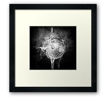 In the sphere - Galactica Framed Print