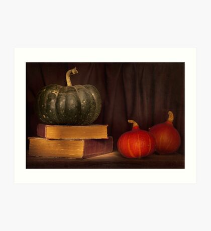 Autumn prose Art Print