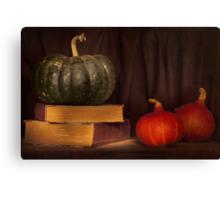 Autumn prose Canvas Print