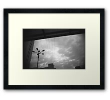 Kunming Abstract sky view Framed Print