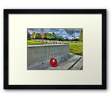 Their Name Liveth For Evermore - HDR Framed Print