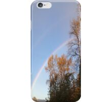 Rainbow & Trees2... iPhone Case/Skin