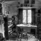 The Writing Shed - Dylan Thomas by griffin