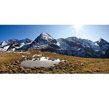 Tux Alps Photographic Print