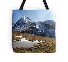 Tux Alps Tote Bag