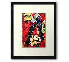 STOCKINGS TO FILL Framed Print