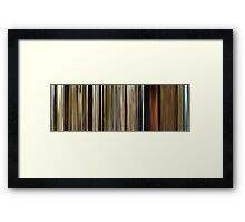 Moviebarcode: O Brother, Where Art Thou? (2000) Framed Print
