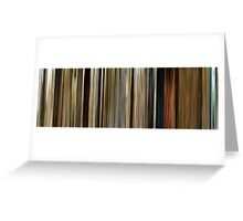 Moviebarcode: O Brother, Where Art Thou? (2000) Greeting Card