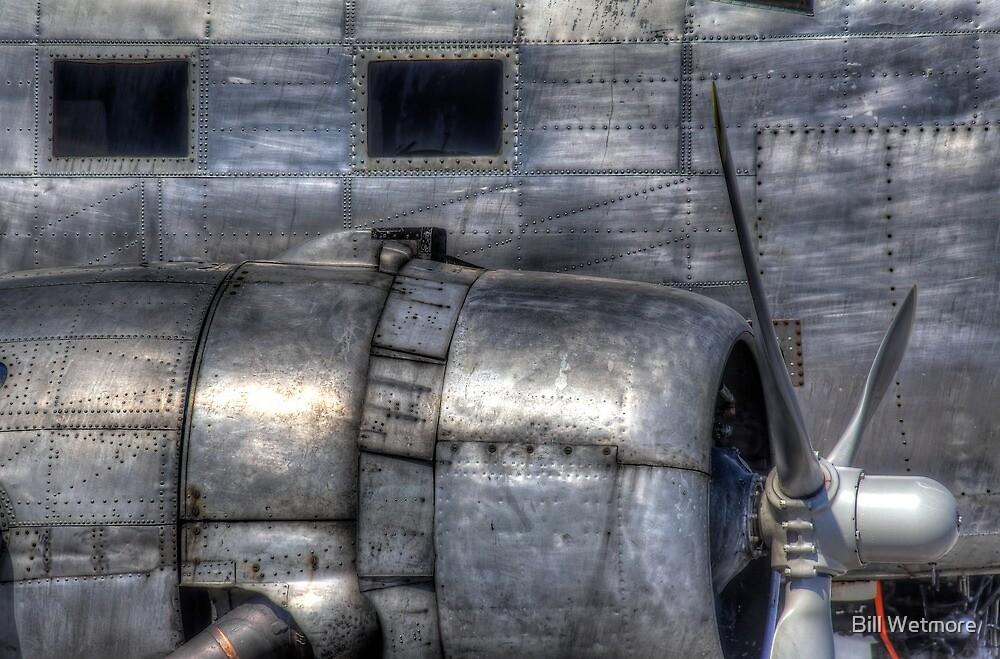 Aluminum Skin -- Douglas DC-3 Up Close by Bill Wetmore