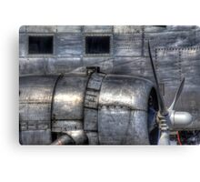 Aluminum Skin -- Douglas DC-3 Up Close Canvas Print