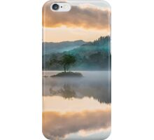 Autumn dawning at Rydal Water iPhone Case/Skin