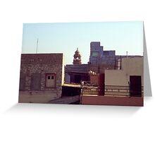Jodhpur Forms, Rajasthan Greeting Card